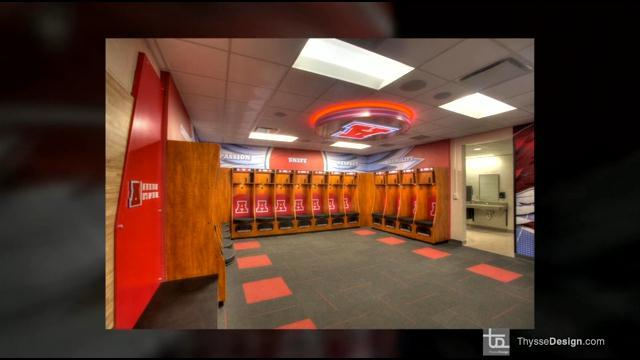 More than half a million dollars spent on high school locker rooms