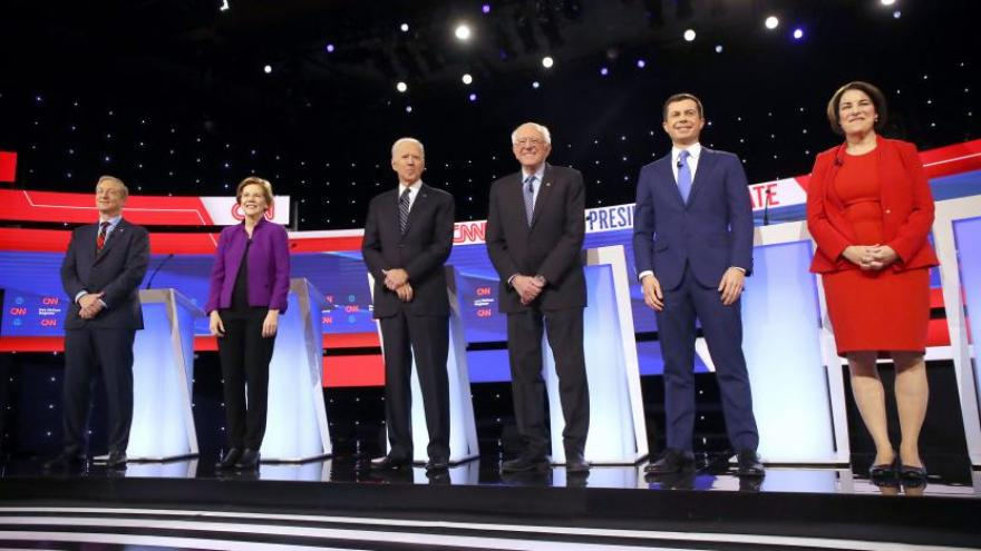 Image result for democratic debate