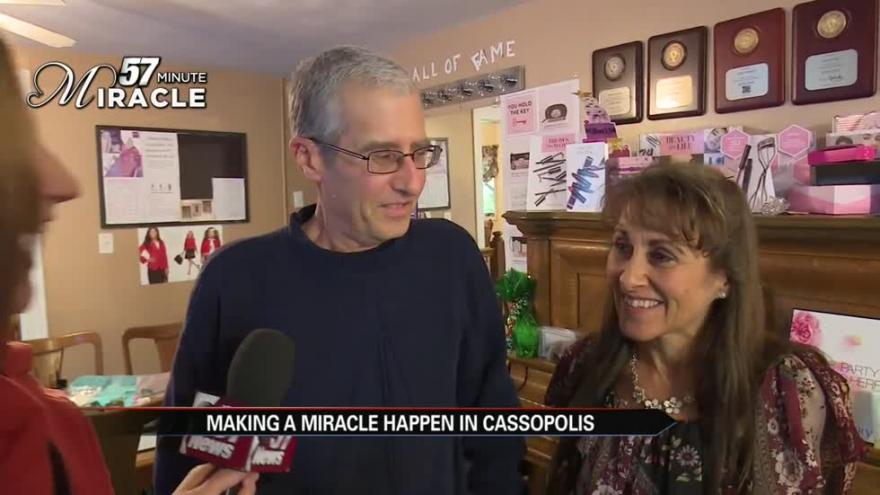 57 Minute Miracle Turns A Birthday Gift Into For Man Battling Cancer