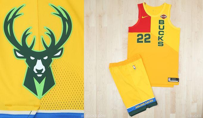 new styles e5c76 bf322 Milwaukee Bucks unveil MECCA-inspired City Edition uniforms