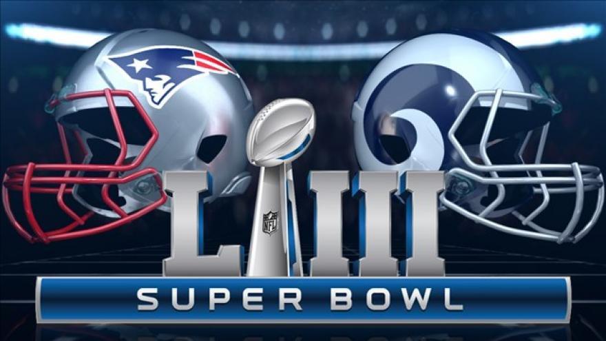 Resultado de imagen para New England Patriots y Los Angeles Rams.