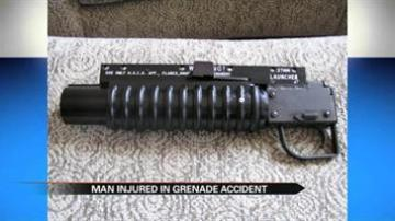 Walkerton man injured at shooting range when grenade explodes