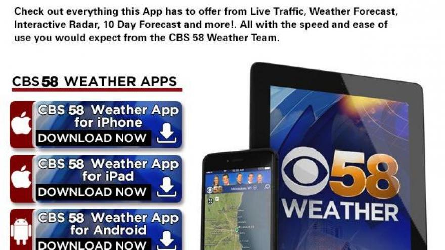Download CBS 58 Mobile Apps