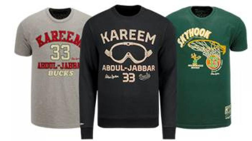 size 40 05e57 5420f Milwaukee Bucks and Mitchell & Ness Launch Kareem Abdul ...