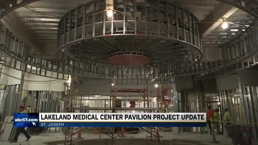 Lakeland Medical Center Pavilion continues construction