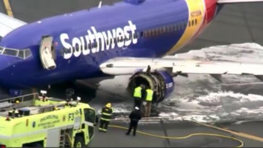 NTSB  1 person dead after plane makes emergency landing in Philadelphia 09df52fff
