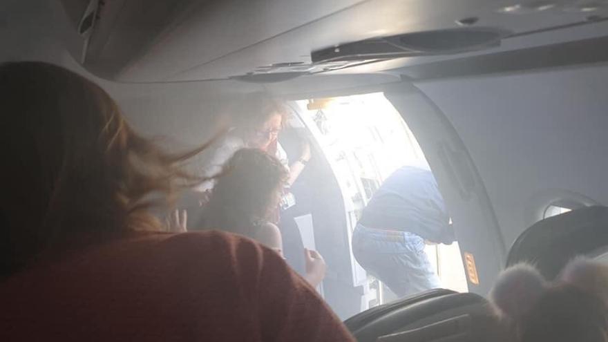 Passengers describe British Airways flight as a 'horror film' after