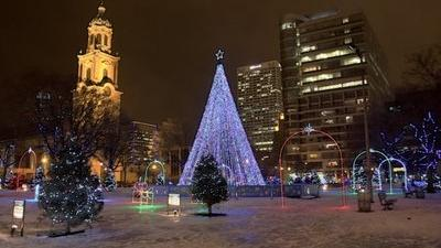 Milwaukee Holiday Lights Festival Begins With Fireworks