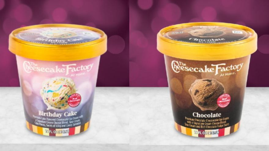 Cool The Cheesecake Factory To Sell Cheesecake Flavored Ice Creams In Funny Birthday Cards Online Alyptdamsfinfo