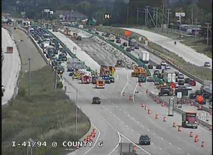 Sheriff's Office investigating 10-vehicle crash on I-94 in Racine County