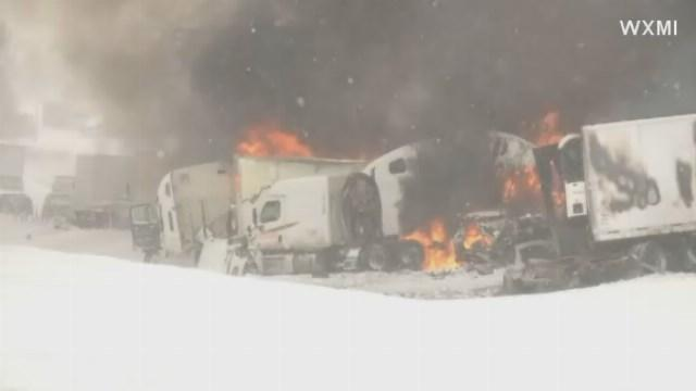 193 vehicles involved in I-94 crash