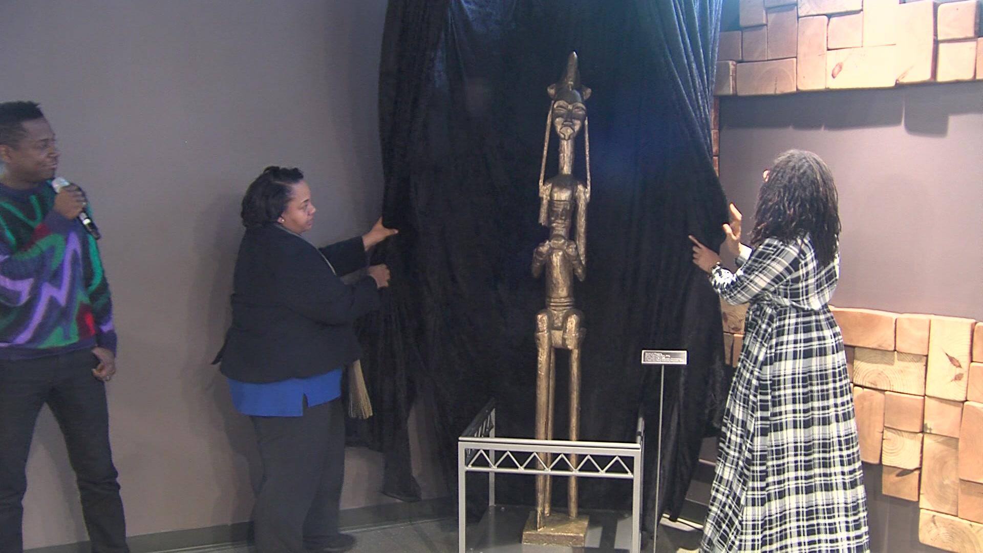 America's Black Holocaust Museum unveils new sculpture