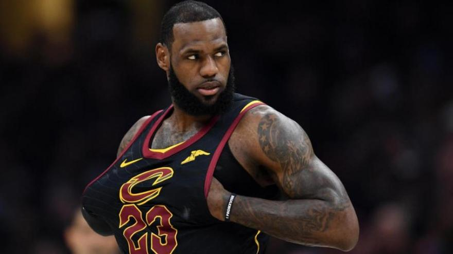 94b847bc1c4 Down town  Cleveland hurting after LeBron chooses LA