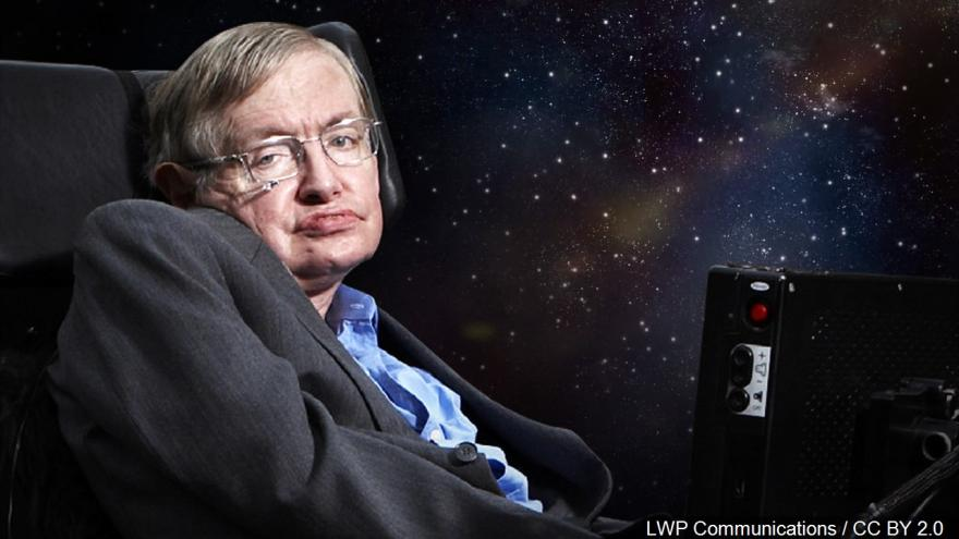 Stephen Hawking S Voice Bound For A Black Hole 3 500 Light