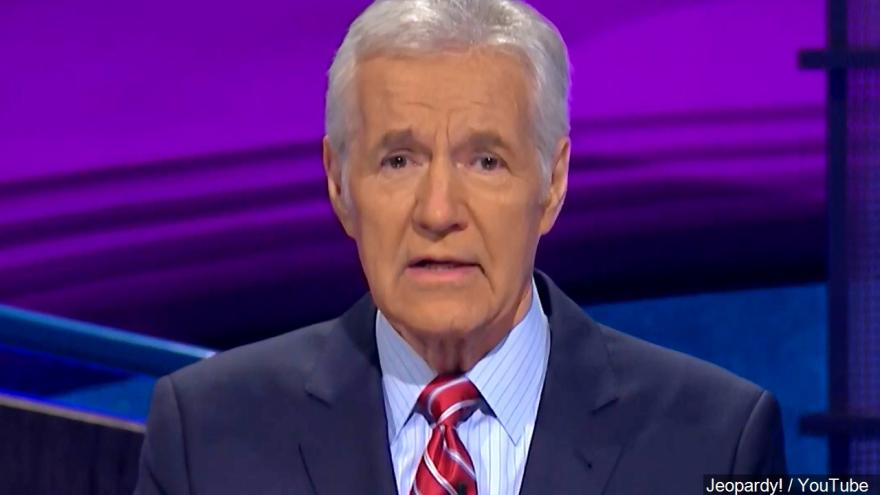 Alex Trebek opens up about can...