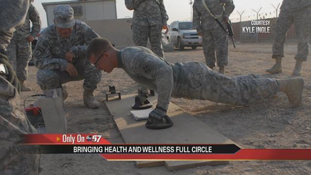 Local Army Veteran runs nutrition and fitness program