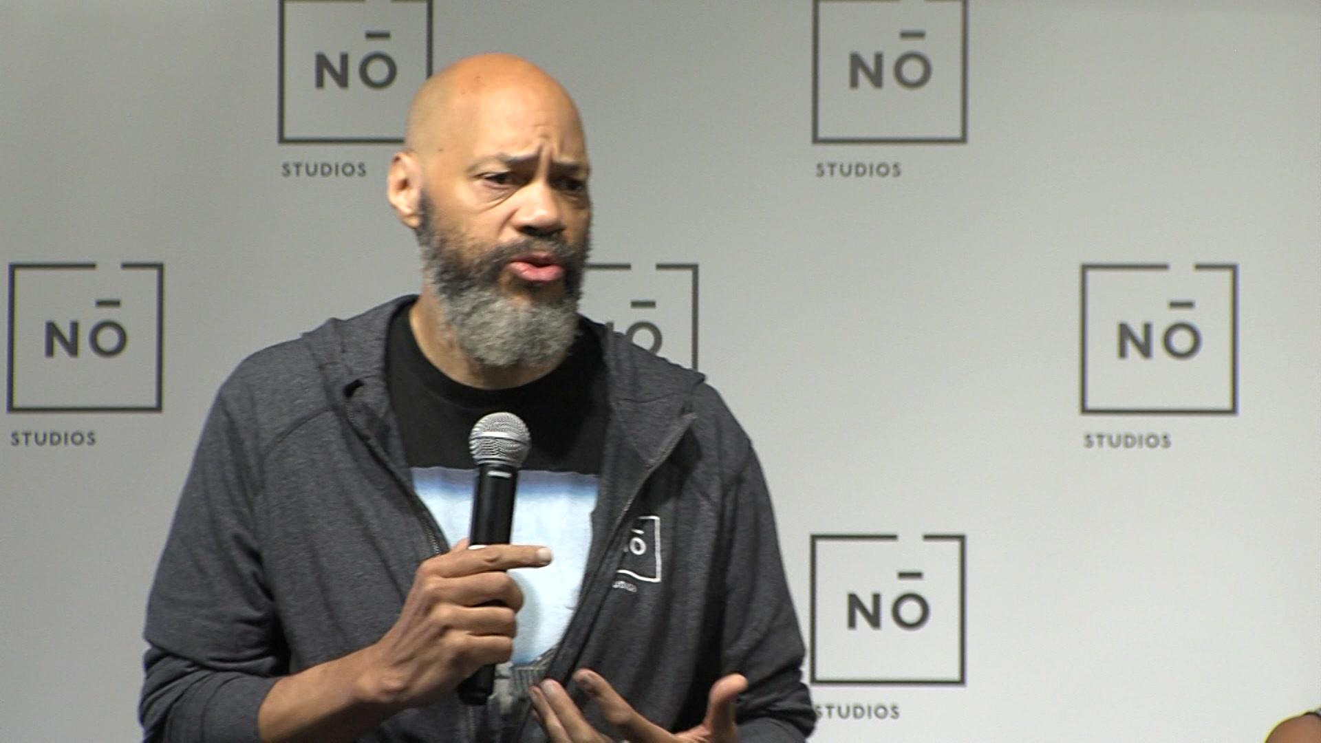 Oscar-winning filmmaker, Milwaukee native discusses Social Justice Summit at No Studios