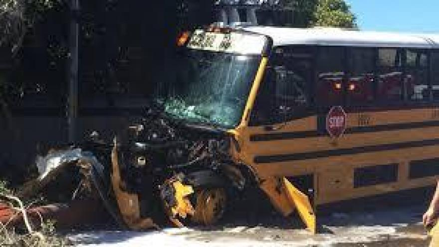 School Bus Crash in Florida Injures 7 Students, 4 Adults