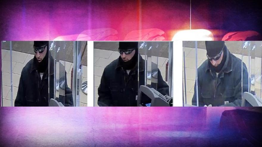 UPDATE Racine Police Release Description Of Wells Fargo Bank Robber