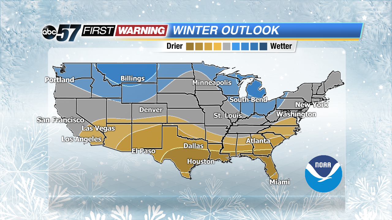 Noaa Winter Outlook Snowier Winter Than Last Year For Midwest