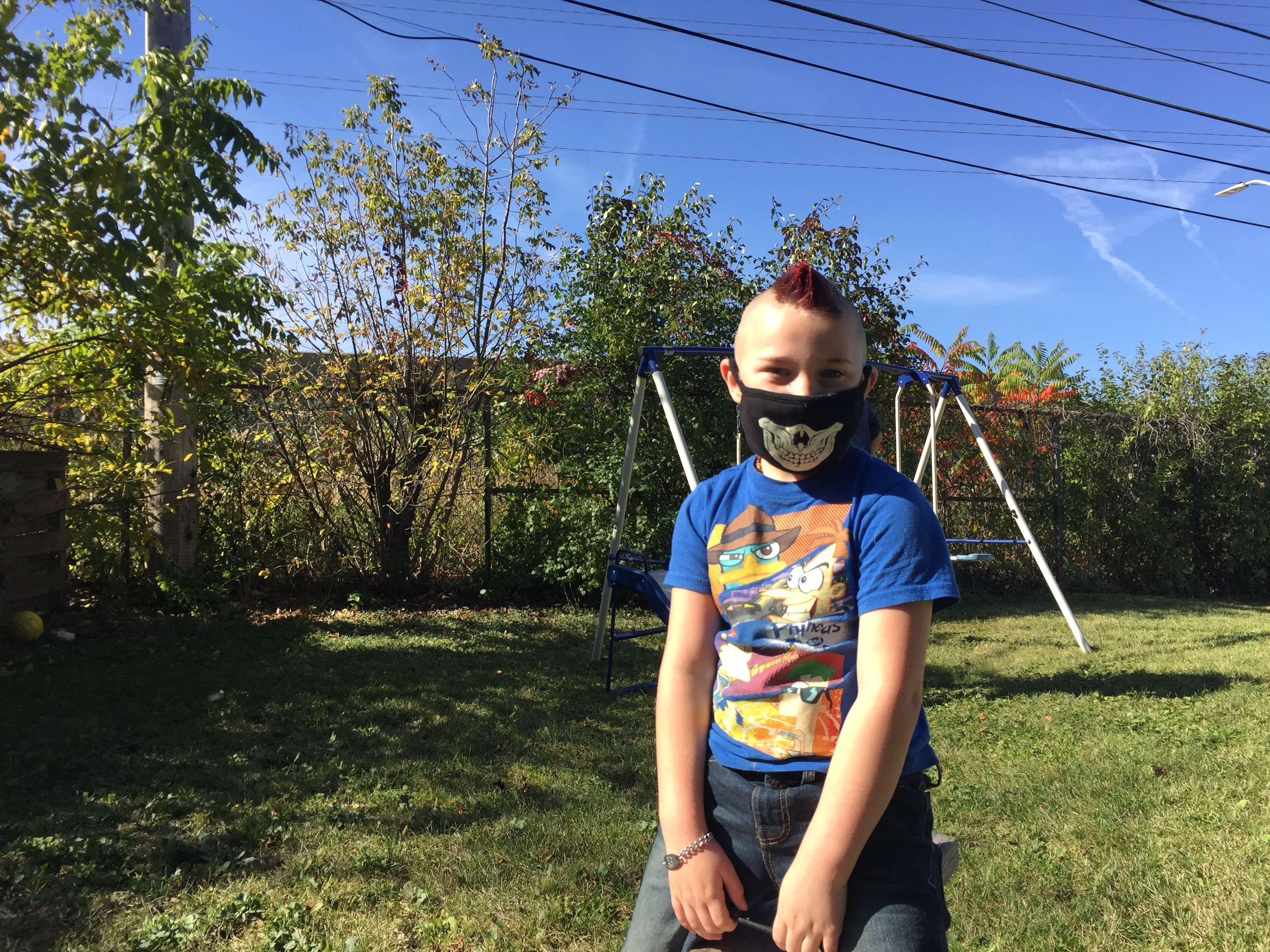 Gabriel is now home schooled and exposure outside is limited and he always covers his face. He has spent less time in the hospital after the DOT began spraying down construction dust more than usual according to the American Lung Association. by