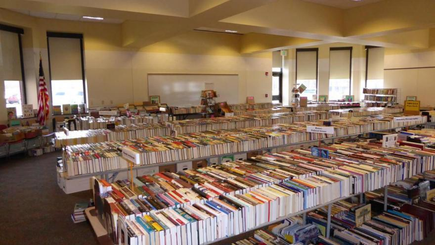 Over 10 000 Books Up For Grabs At The Friends Of The