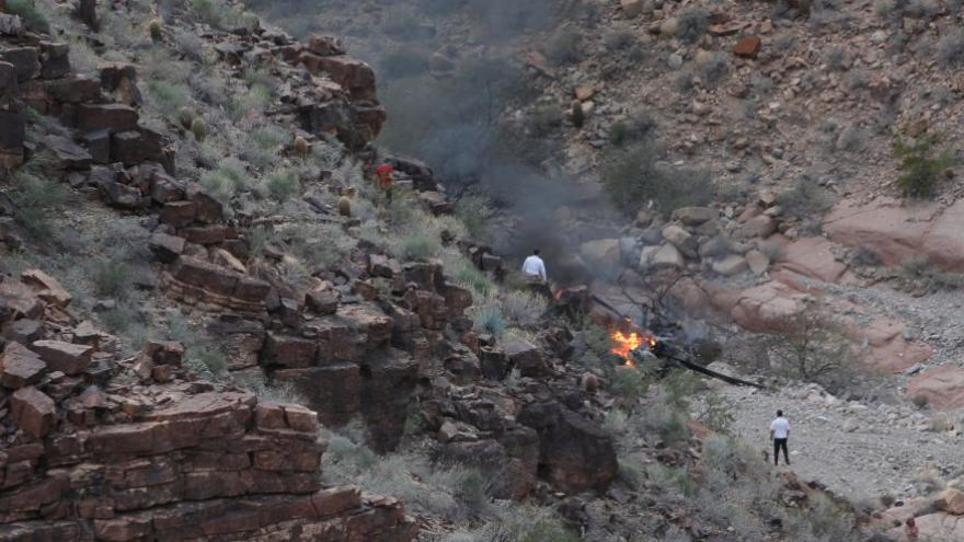 Grand Canyon Chopper Crash Witness It Was Just Horrible