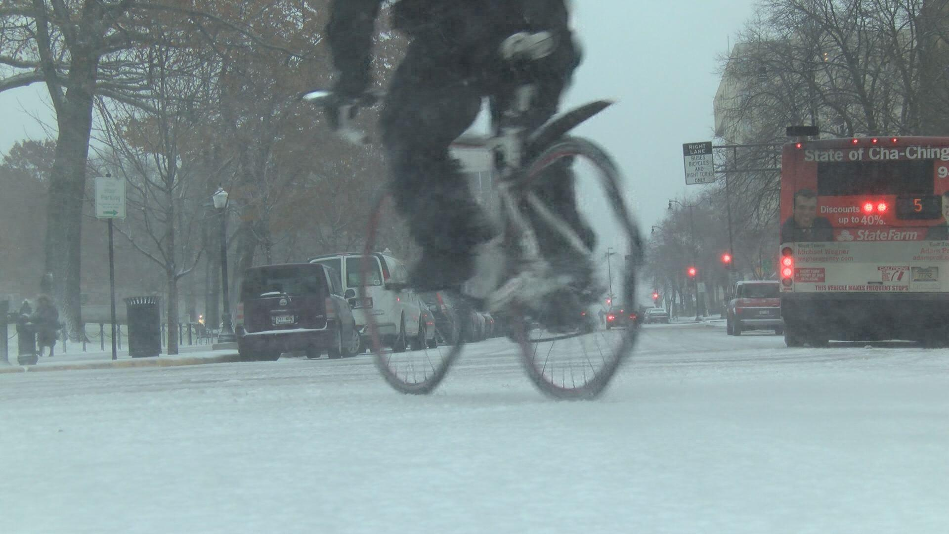 Saturday Morning Snow In Madison >> Snow Storm Plows Through Madison First