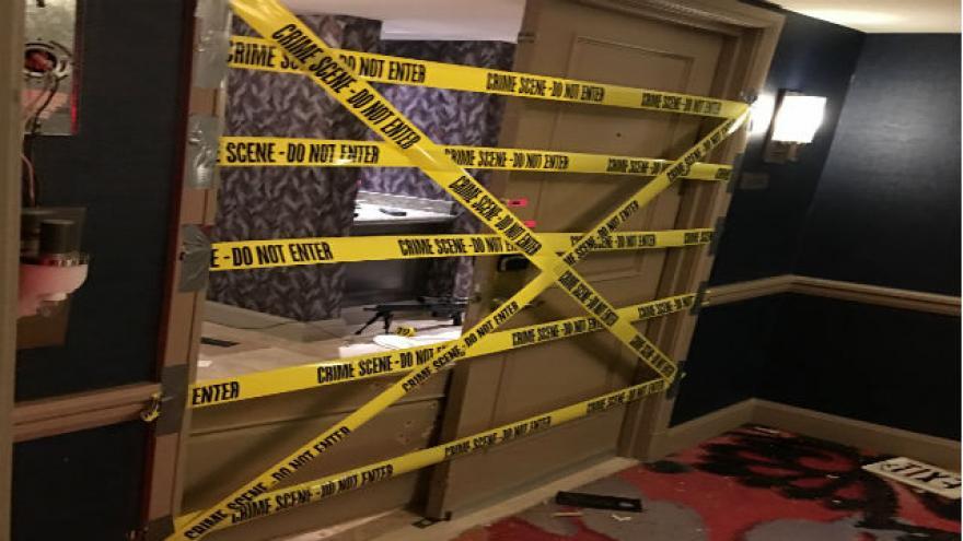 Las Vegas Police Security Responded To Door Alarm Drew