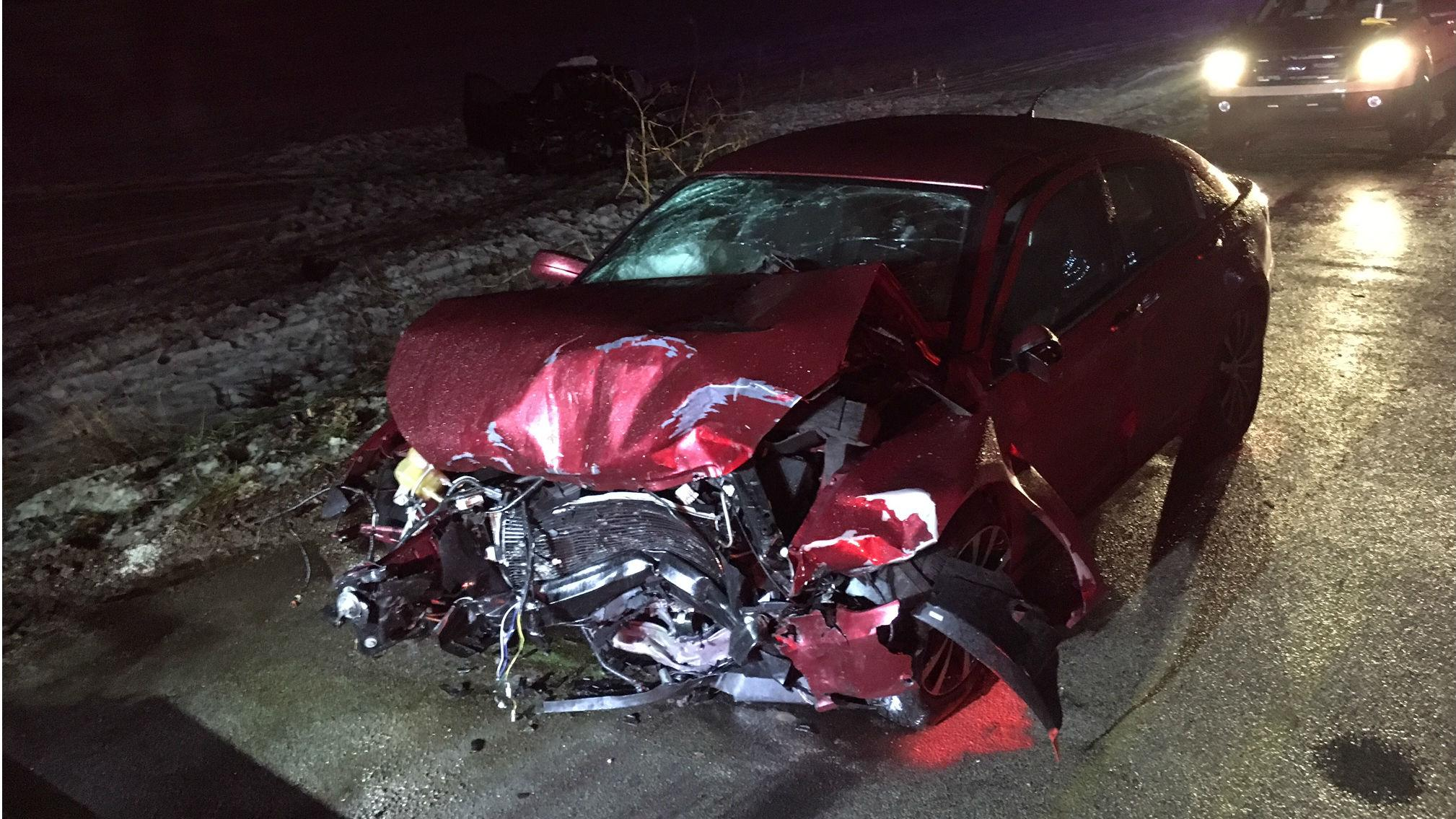 Mother and son killed in head on collision on Christmas Day