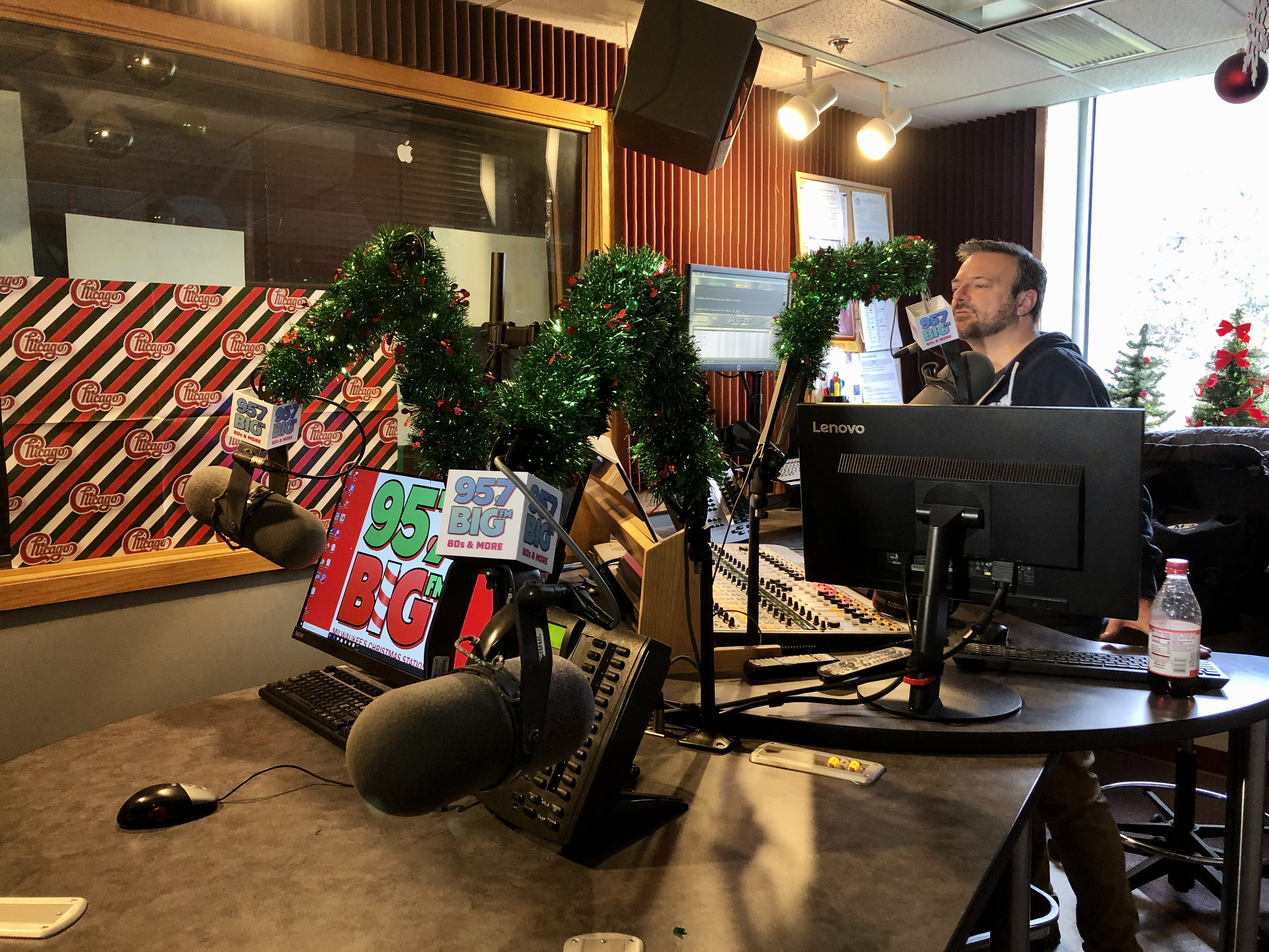 Local radio station begins playing
