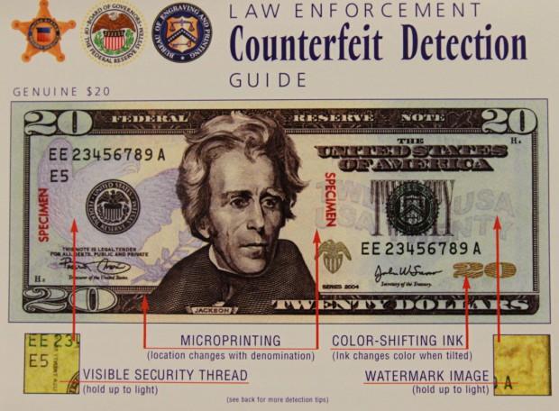 Janesville Police warning about counterfeit bills