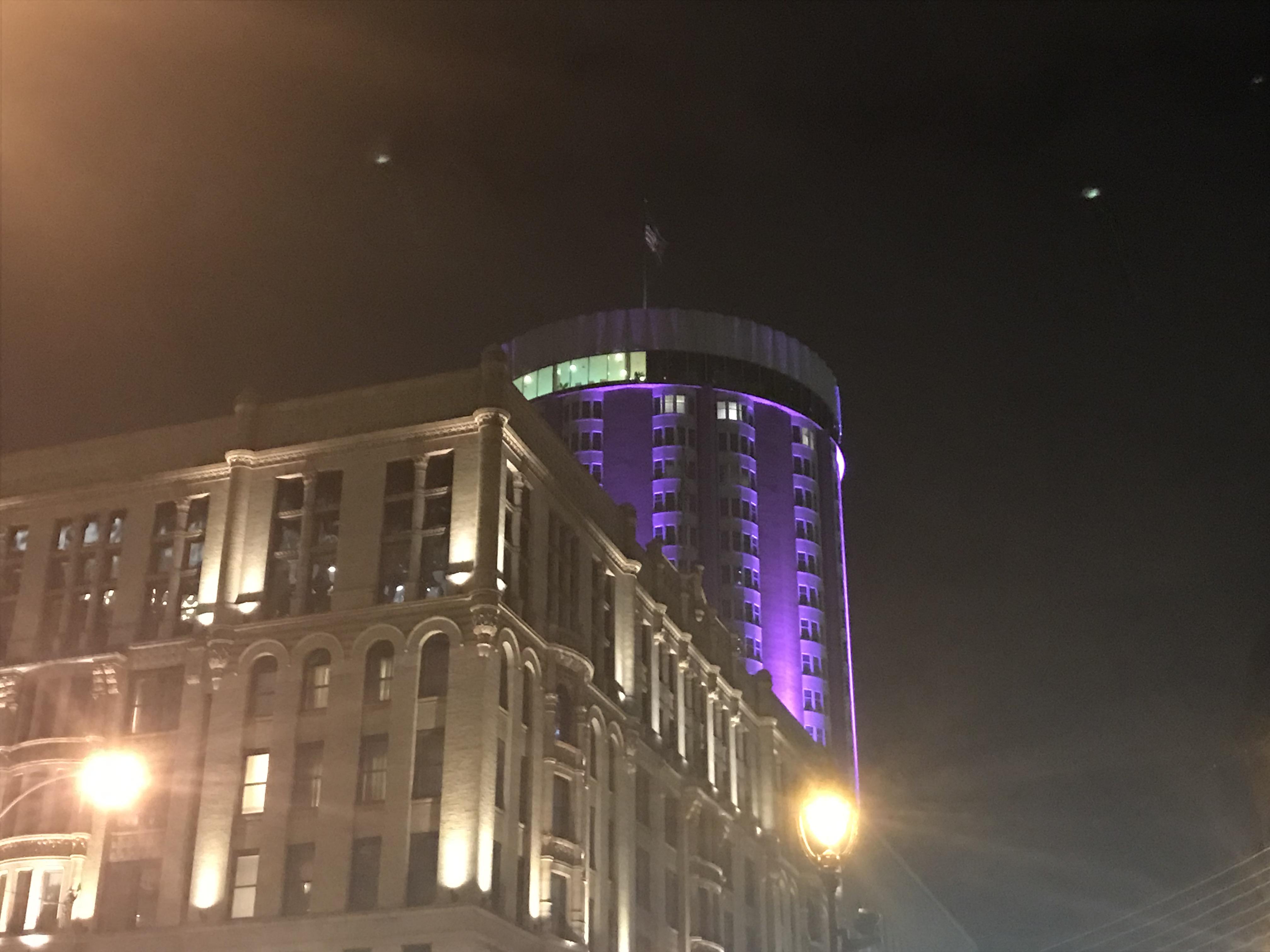Milwaukee goes purple for World Pancreatic Cancer Day