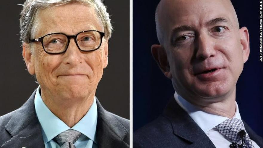 Amazon S Jeff Bezos Passes Bill Gates For Title Of World S Richest