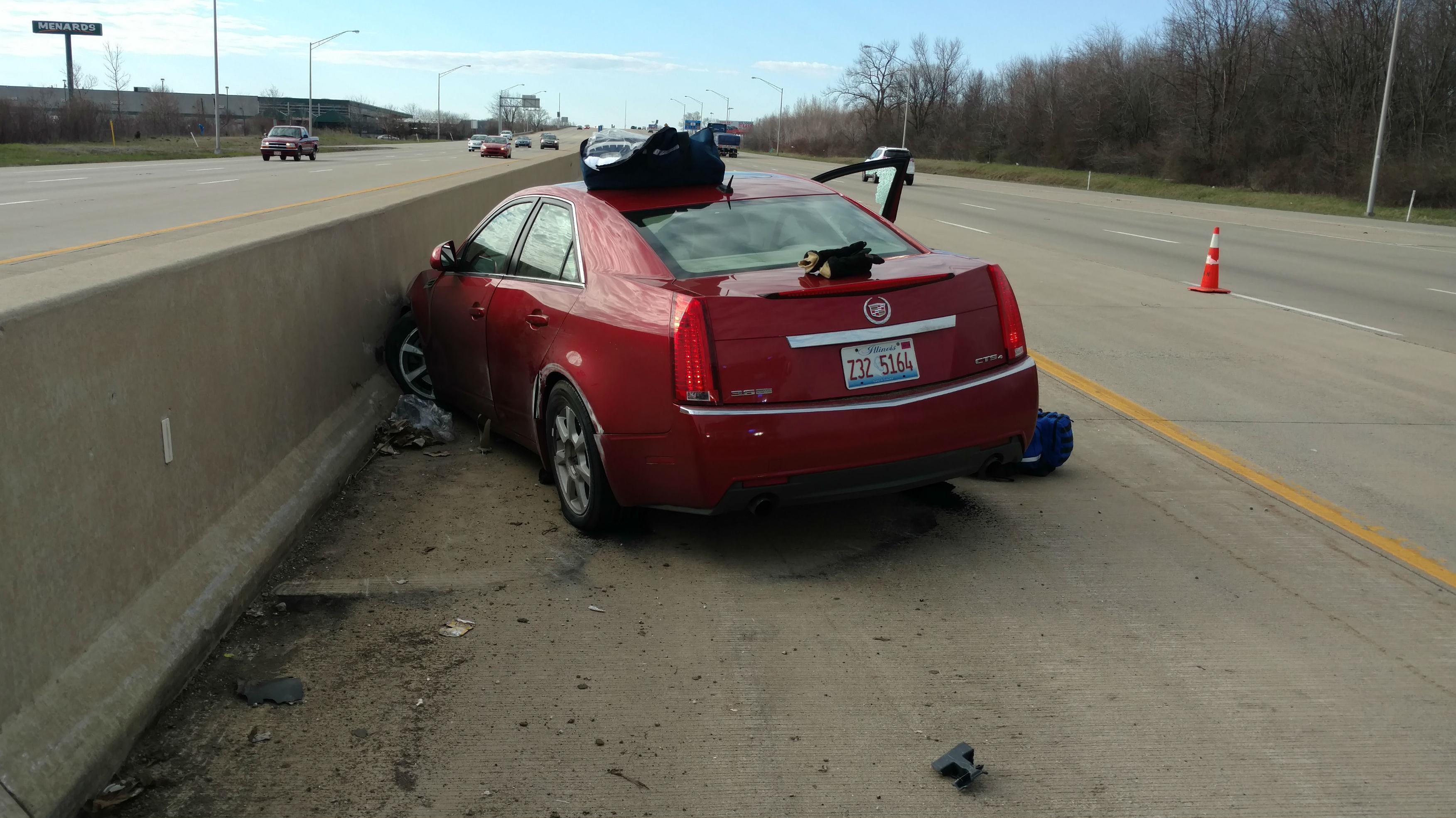 Man dies in crash on I-65