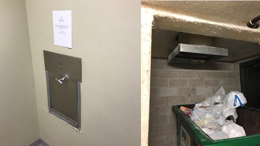 Garbage Chute Room : Year old removed from garbage chute in whitefish bay