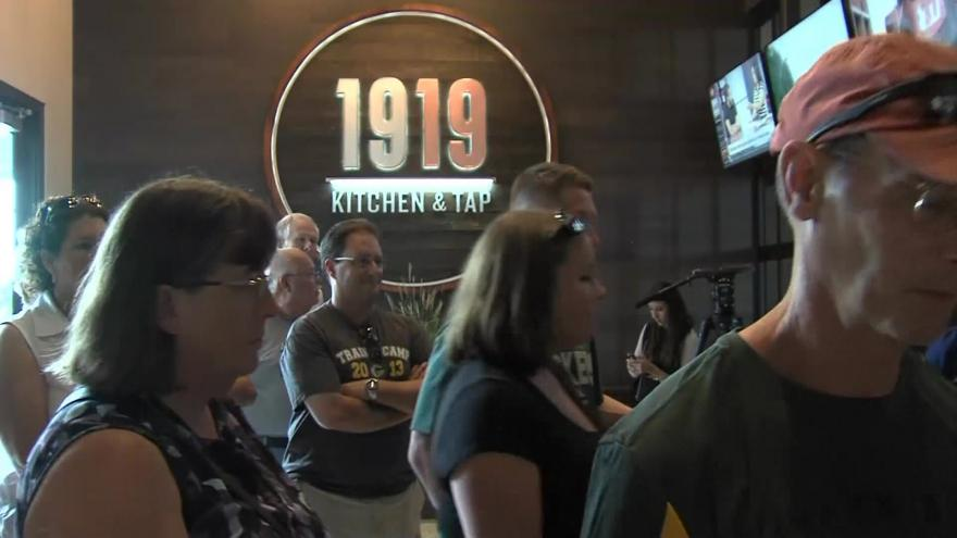 1919 Kitchen Tap Selling Packers Player Inspired