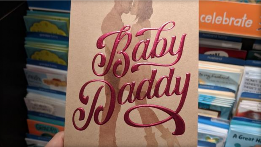 Baby daddy fathers day card pulled from shelves american baby daddy fathers day card pulled from shelves american greetings target apologize m4hsunfo