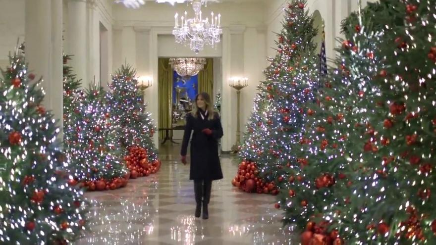 First Lady Melania Trump Reveals Christmas 2018 at the White House