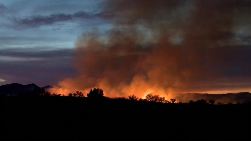 Border patrol agent's gender reveal party ignited a 47,000-acre wildfire