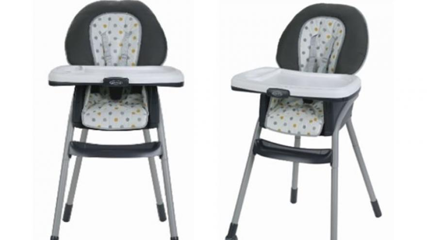 Graco Recalls Highchairs Sold At Walmart Due To Fall Hazard