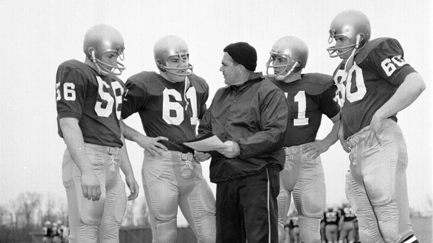 42f90fc35f3 Notre Dame holding mass and memorial celebration for Coach Parseghian