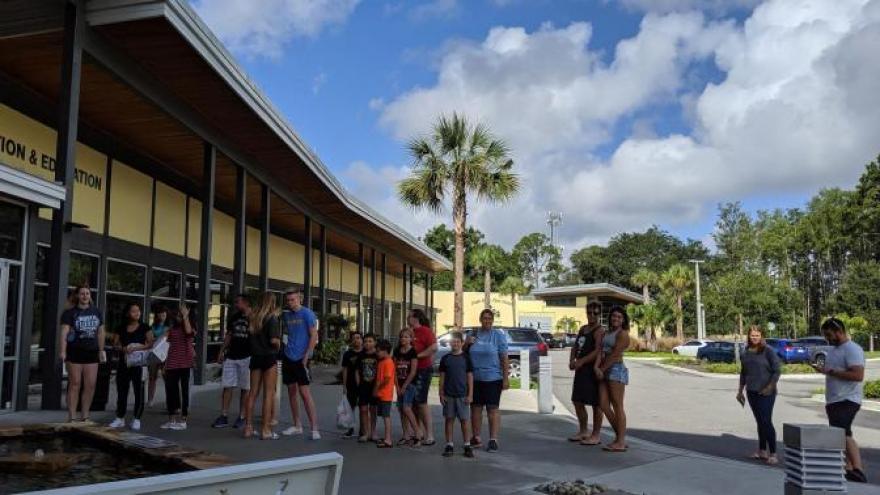Ahead of Hurricane Dorian, a Florida Humane Society found