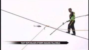 Man to attempt tightrope walk across Niagara Falls