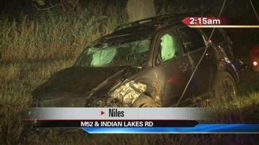 1 Injured after overnight accident in Niles