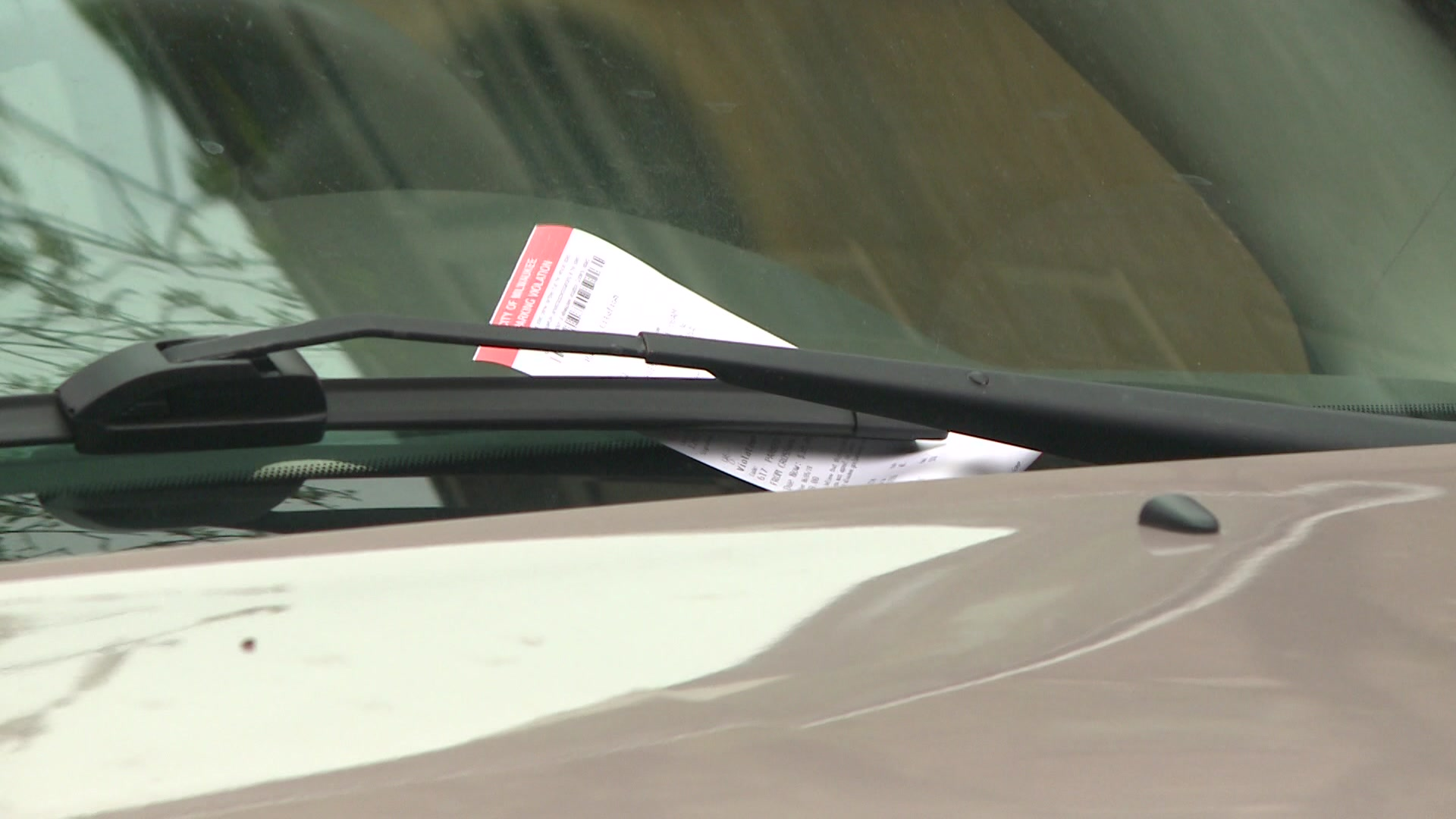 How much money does Milwaukee bring in from parking tickets?