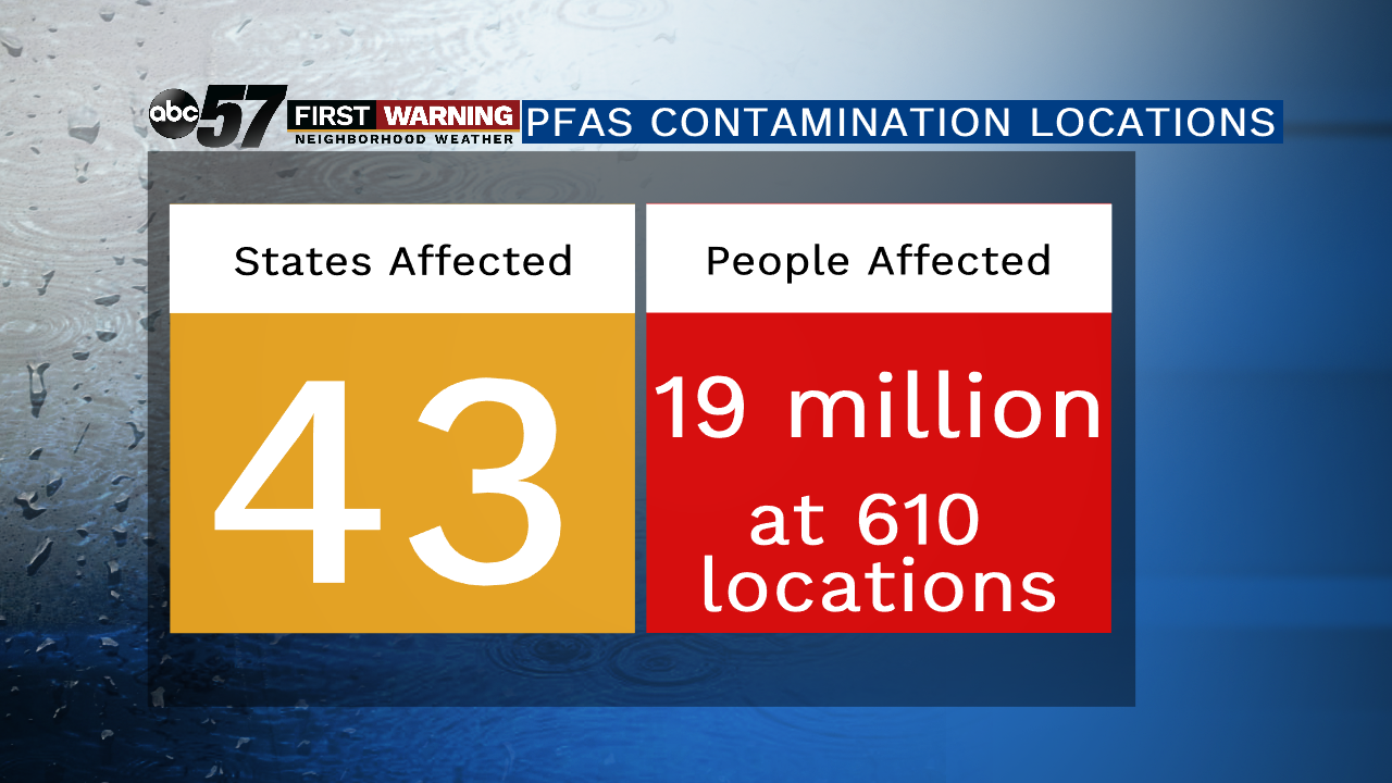 New study: Michigan has most PFAS contaminated water sites