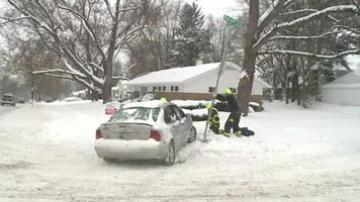 Indiana State Police Ask Drivers To Stay Off The Road