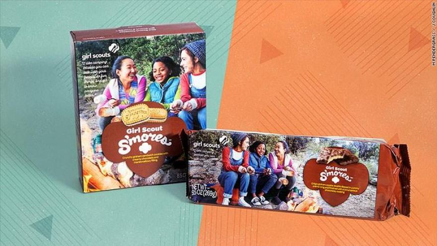 cnn compares girl scout cookies made by little brownie