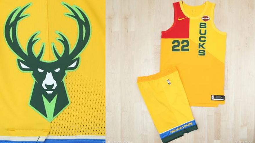new styles b6bcb 44ab2 Milwaukee Bucks unveil MECCA-inspired City Edition uniforms